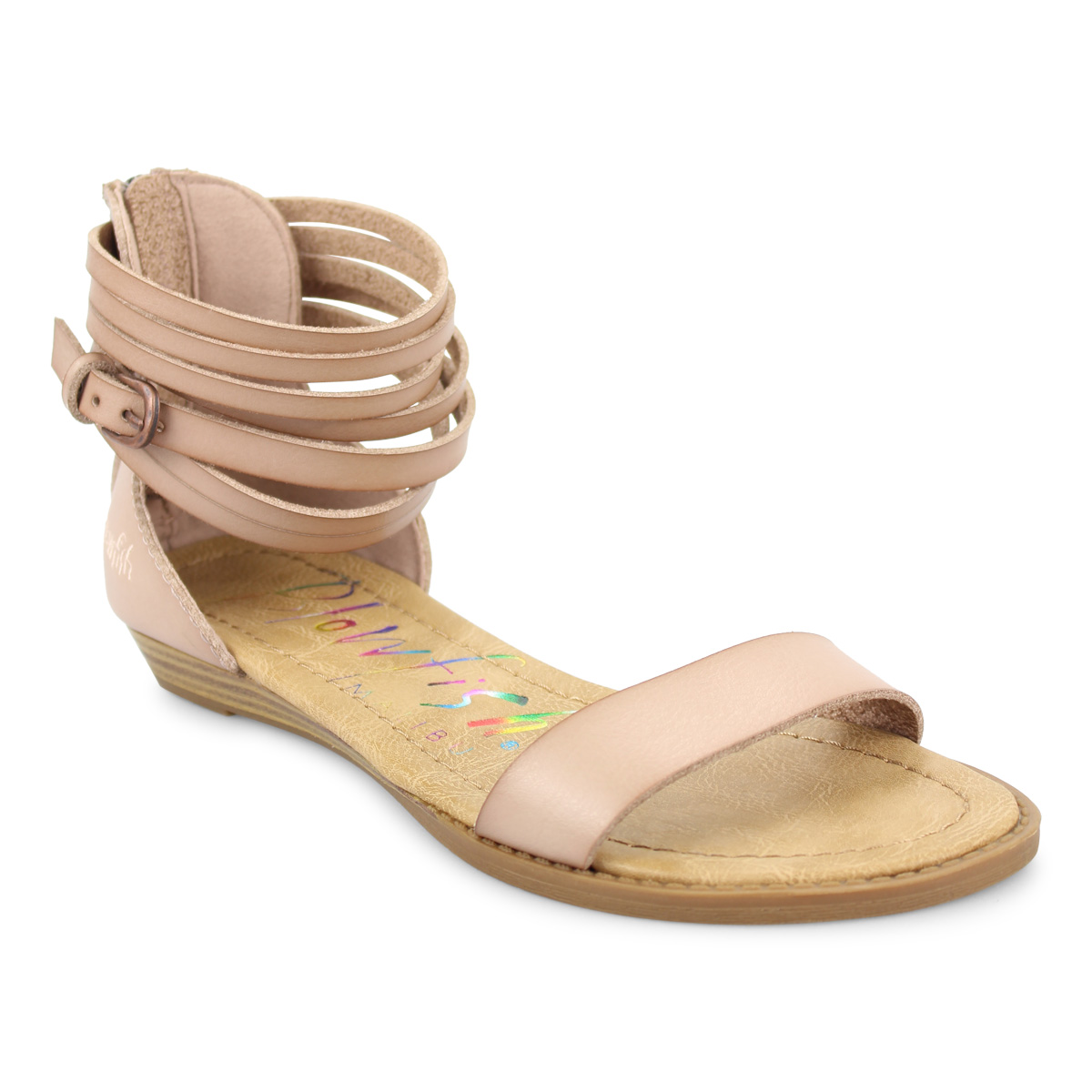 53f648e34 Blowfish-Womens-Becha-Micro-Wedge-Multi-Strap-Sandal thumbnail