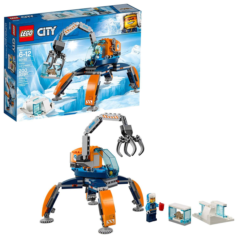 LEGO® City Arctic Ice Crawler Truck Building Play Set 60192 NEW NIB