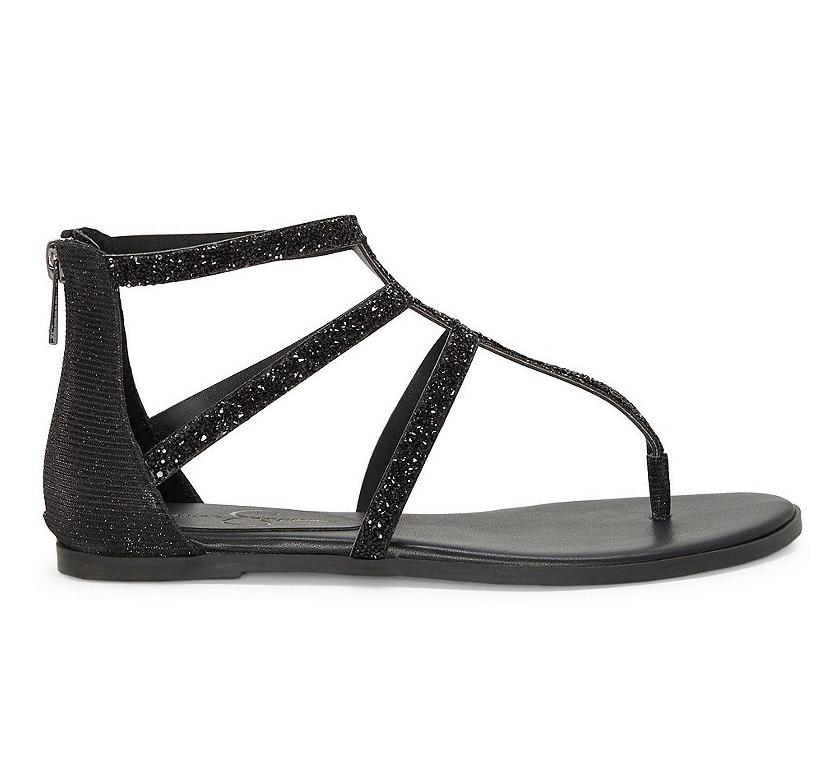 d7bcc6e8f01 Jessica-Simpson-Womens-Cammie-Rhinestone-Sparkle-Flat-Sandals thumbnail