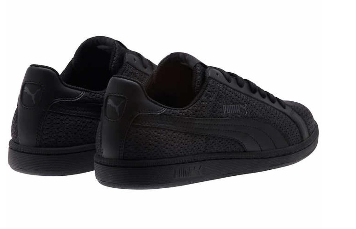 f361356c51a7d Puma Mens Smash Knit Fashion Sneakers