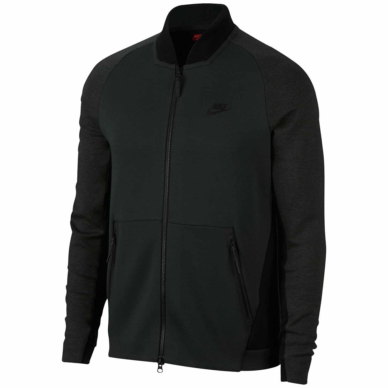 Details about Nike Men's Sportswear Tech Fleece Varsity Jacket (Green, XX Large)
