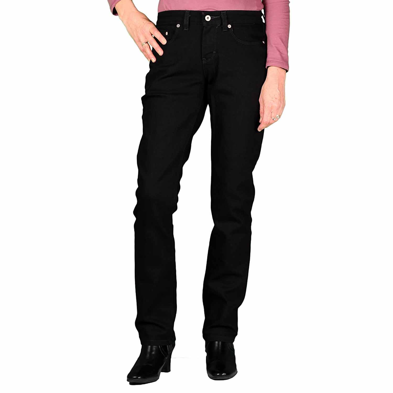 3ecd7ed88940a3 Dickies Womens 5-Pocket Curvy Fit Stretch Straight Leg Midrise Jean ...