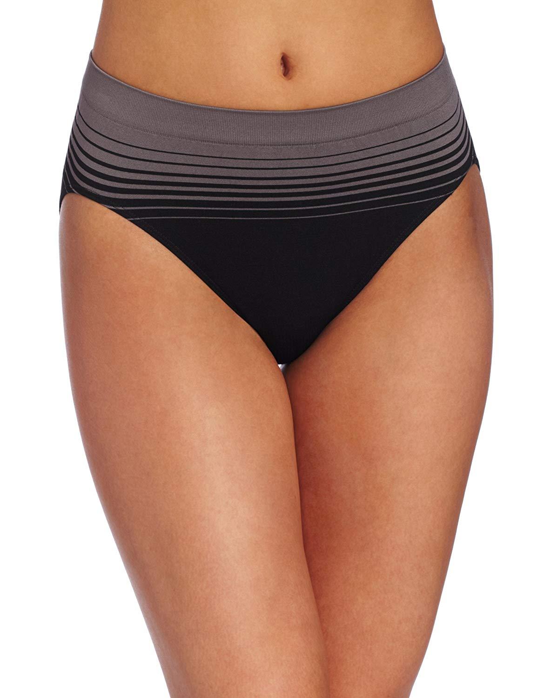 3a34637db95b5 Bali Womens Comfort Revolution Microfiber Hi Cut Brief Panty