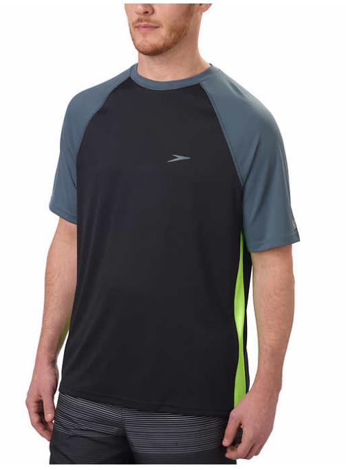 ae90039fe0ed Speedo Mens Block the Burn UV Protection Swim Shirt