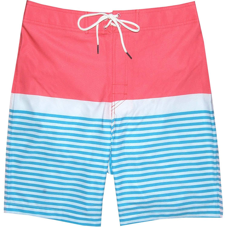 1544d034b4 Southern-Tide-Mens-Sunset-Coral-Swim-Trunks thumbnail 4