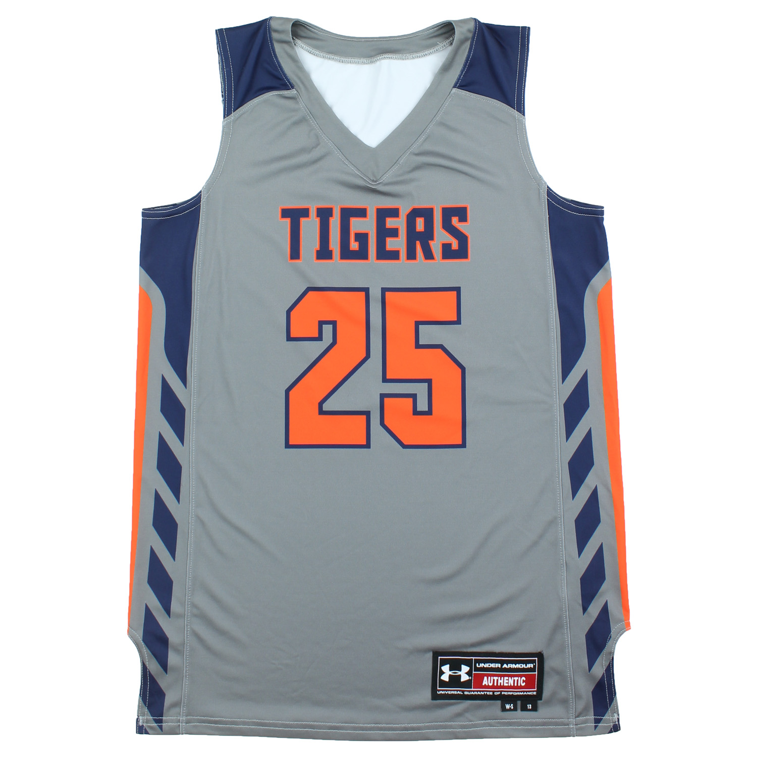 Details About Under Armour Women S Auburn Tigers Ncaa Basketball Jersey 13 Grey Small