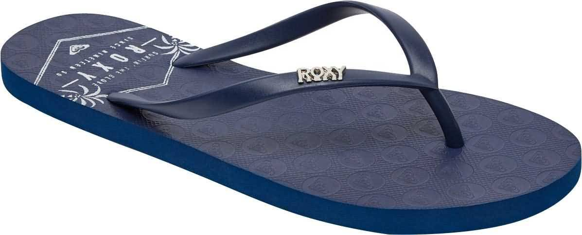a67d180fb429 Roxy-Womens-Viva-Stamp-Thong-Flip-Flop-Sandals thumbnail