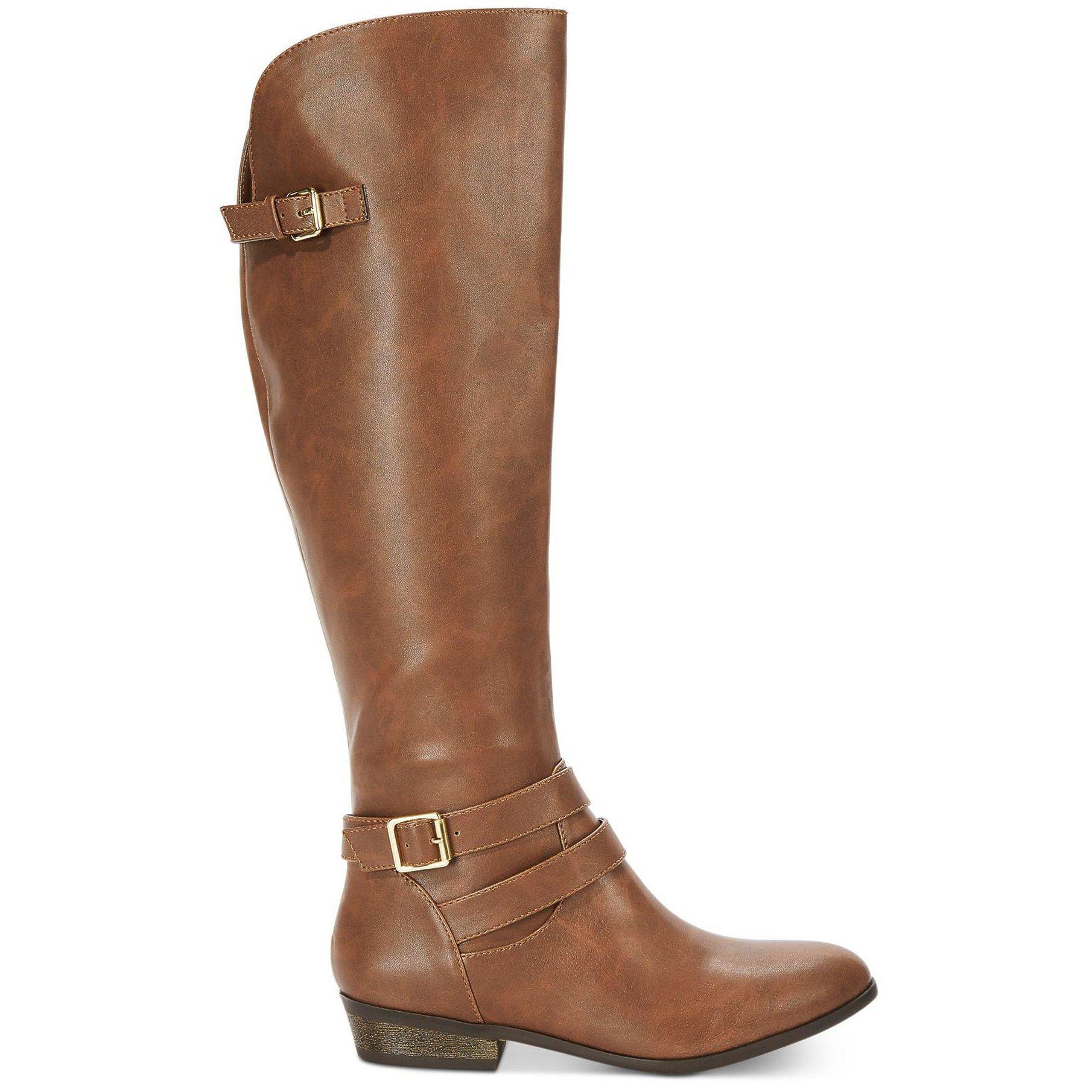 Material girl para mujer Montar Carleigh Alto botas De Montar mujer f0e2b9
