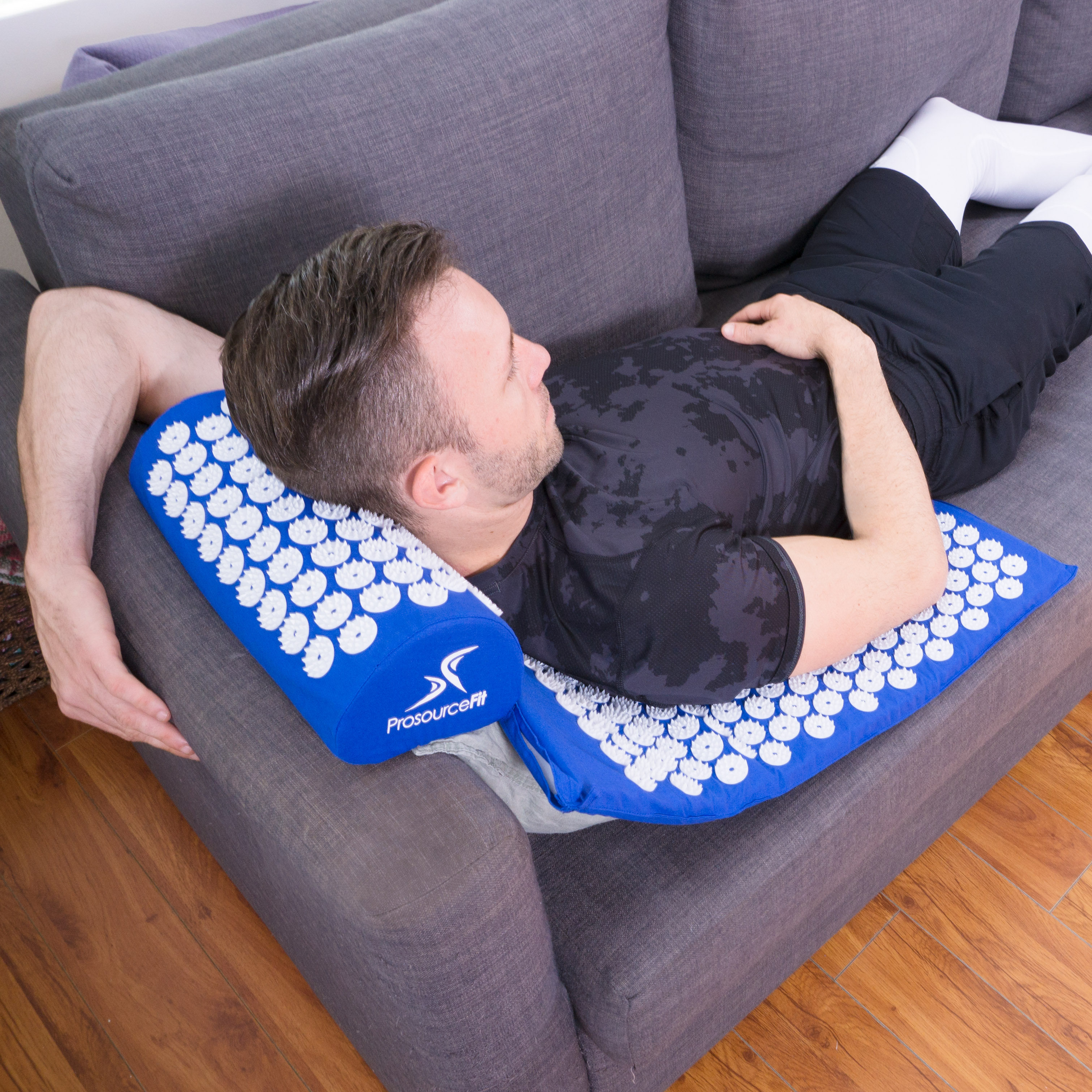 ProsourceFit Acupressure Mat and Pillow Set for Back/Neck ...