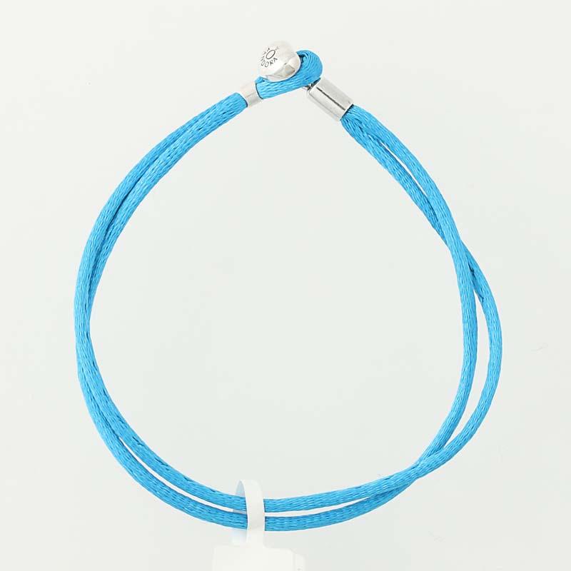 0ef85c647 NEW Authentic Pandora Turquoise Friendship Bracelet - Sterling 590749CTQ-S3  7.9