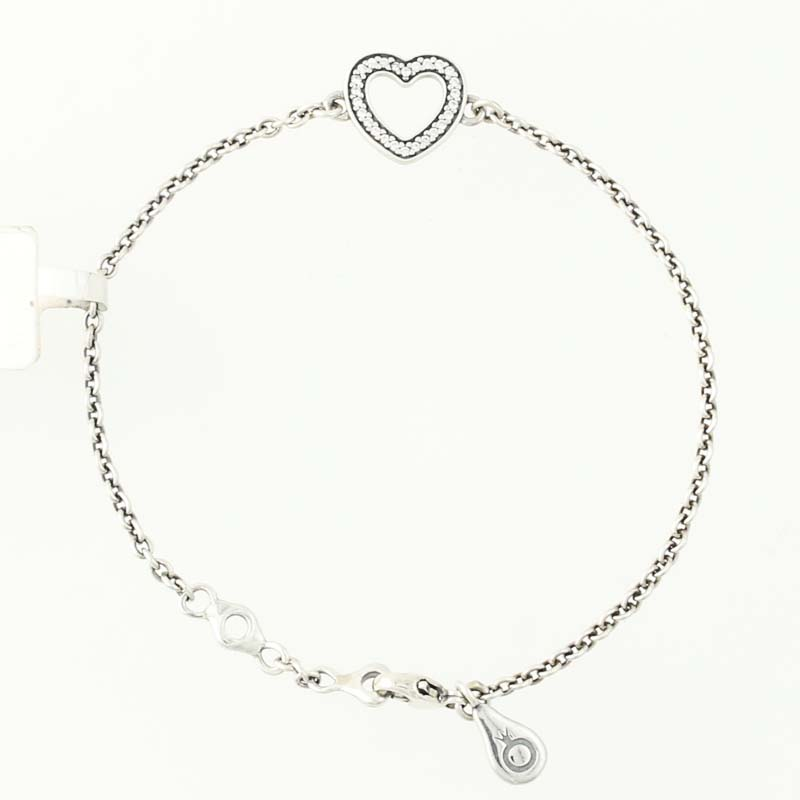 New Authentic Pandora Symbol Of Love Bracelet Sterling Retired