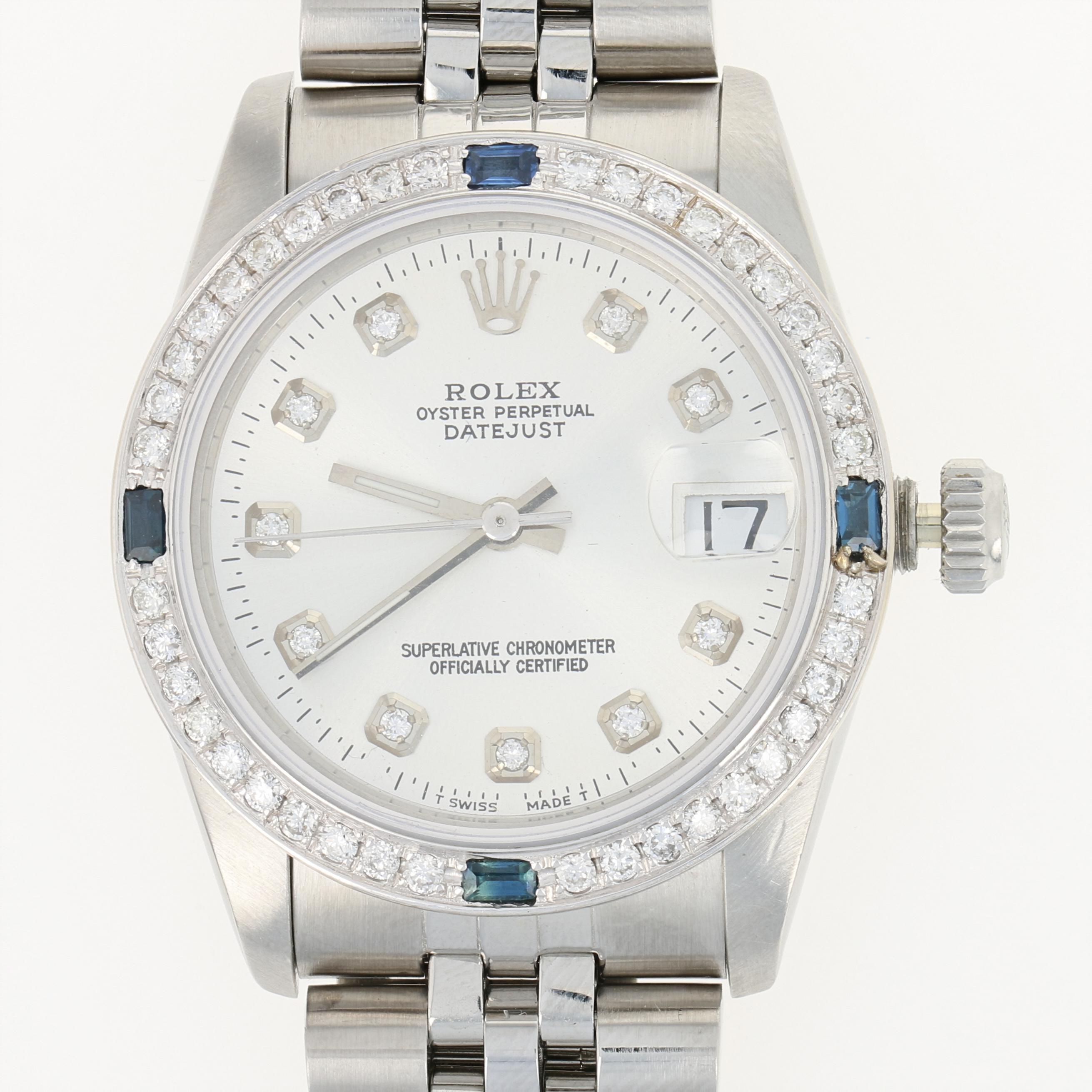 5edaf82934c Rolex Oyster Perpetual Datejust Ladies Watch Stainless Automatic 2Yr ...