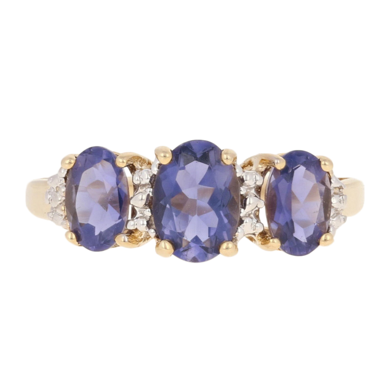 DV Jewels Gemstone Stacking Ring with Iolite