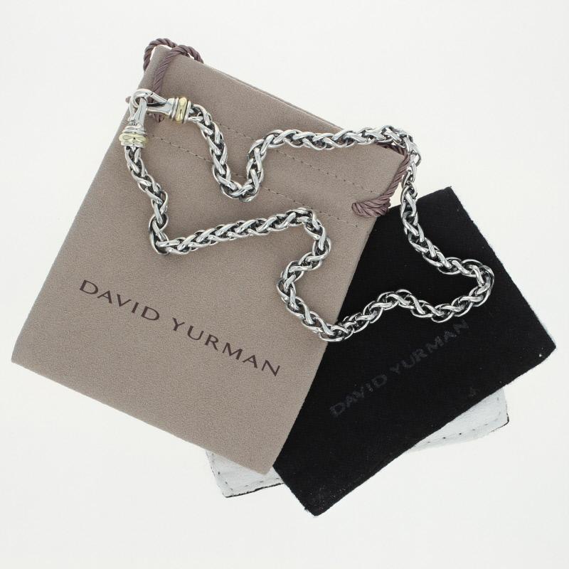 David Yurman 6mm Wheat Chain Necklace 16 Quot Sterling