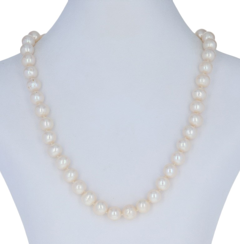 grande sconto comprando ora assolutamente alla moda Collana di Perle D'Acqua Dolce 17 1.3cm - 14k Oro Giallo Annodate ...