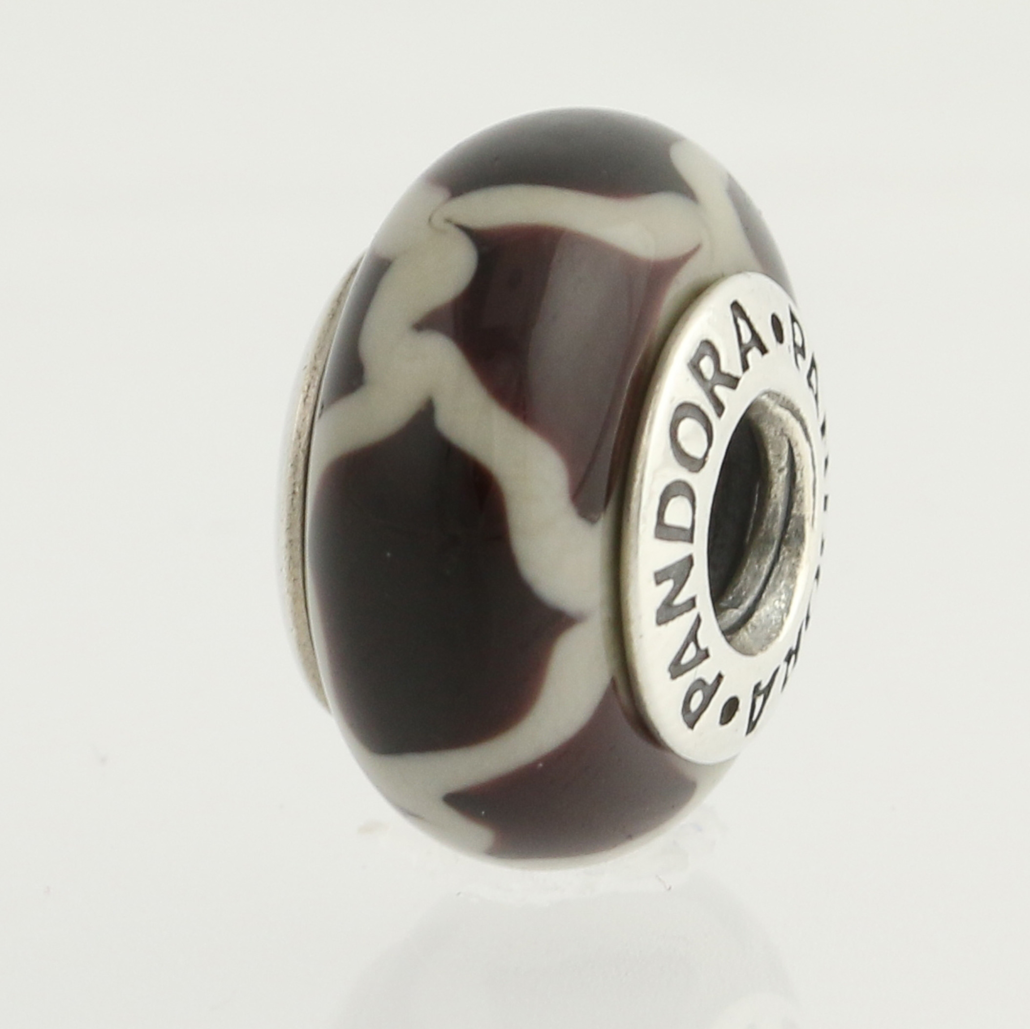 pandora giraffe glass bead