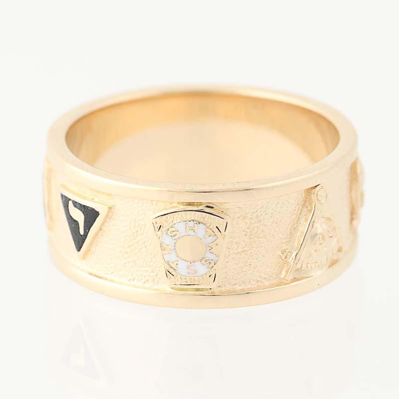 Shriners Ring K Gold S