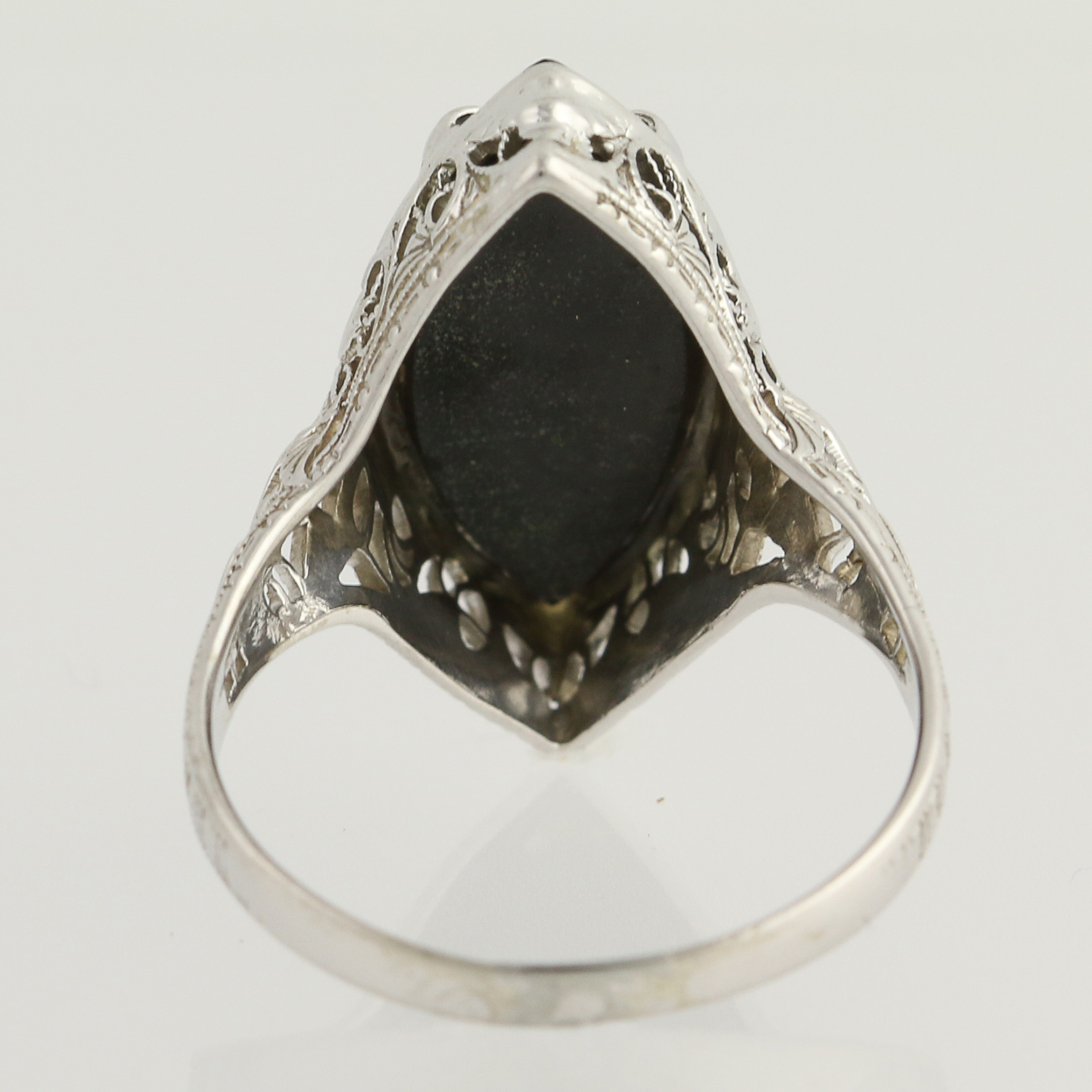 cocktail antiques wedding ring products art rings diamond x butter lane deco onyx