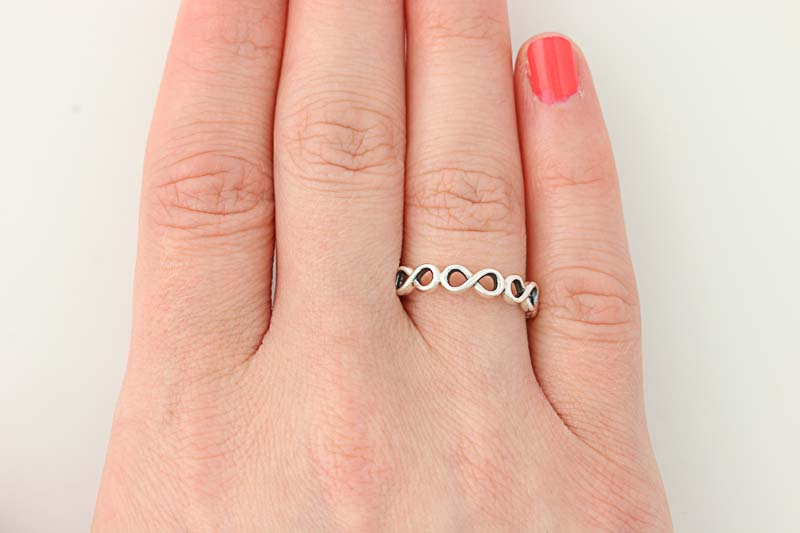 6b24c893d NEW Authentic Pandora Infinite Shine Ring - Sterling Silver 56 (US ...