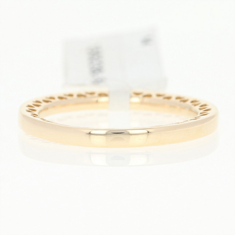 751fcc6fb ... closeout new authentic pandora classic hearts ring 156238 14k gold band  54 7 stackable 99a05 031c5