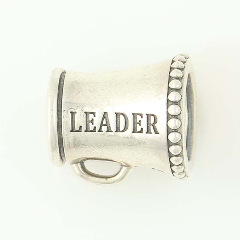 9e3a5dfe3 NEW Authentic Pandora Cheerleader Charm Sterling Silver Megaphone 791125  Retired