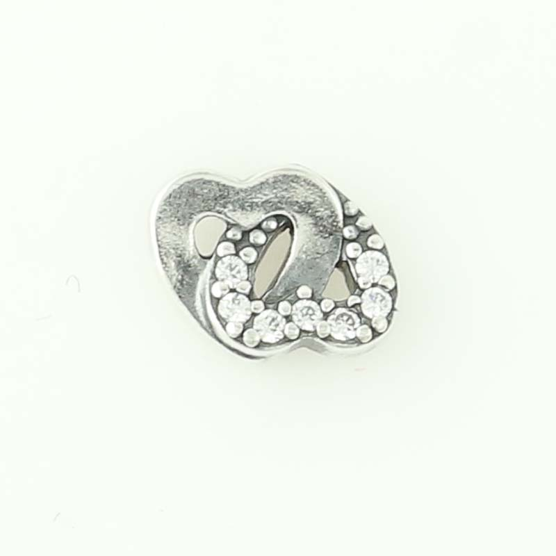 1a60fd629 NEW Authentic Pandora Entwined Love Hearts Petite Locket Charm ...