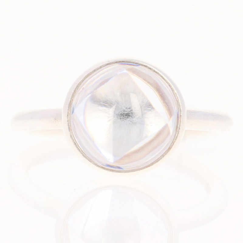 930366c57ff92 Details about NEW Authentic Pandora Poetic Droplet Ring - Sterling Clear 52  (US 6) 190982CZ