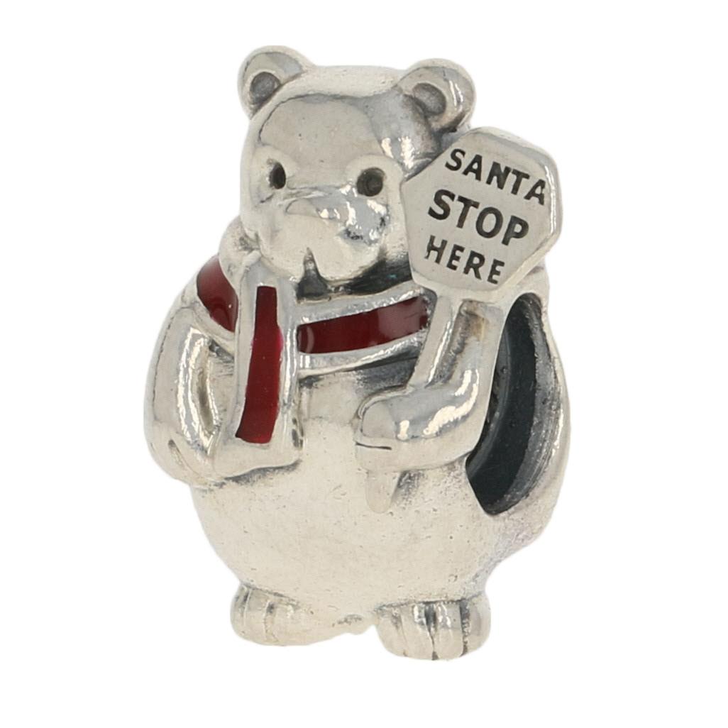 pandora charme orso polare