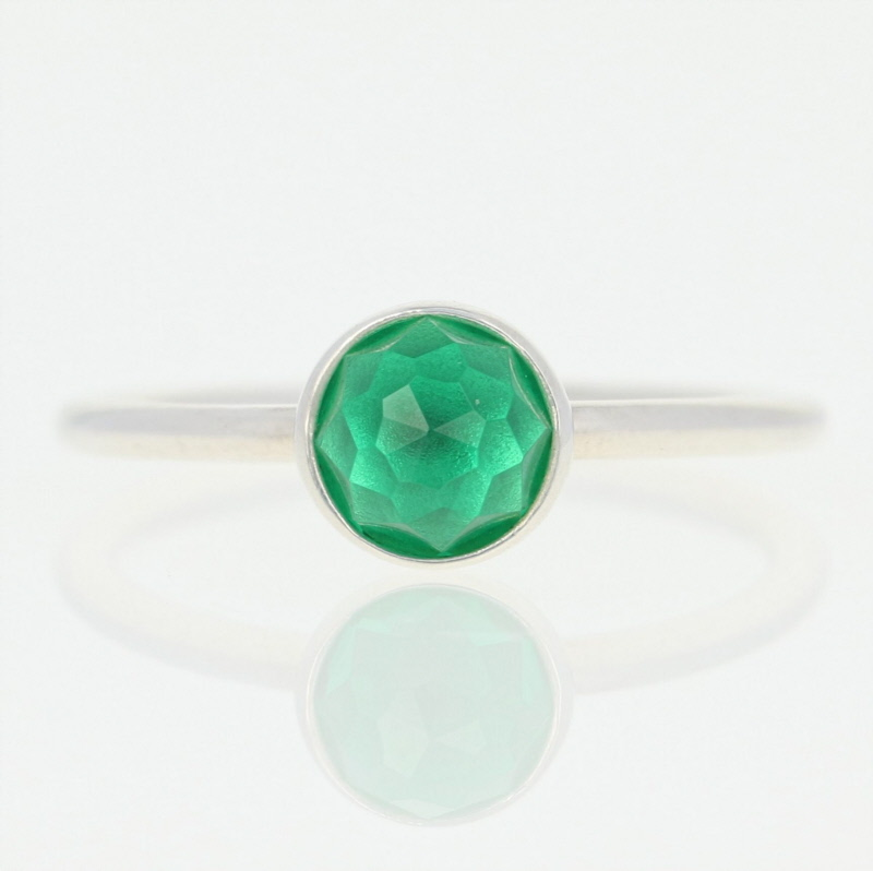 5b83be5a2 NEW Authentic Pandora May Droplet Ring - Sterling Green 60 (US 9 ...