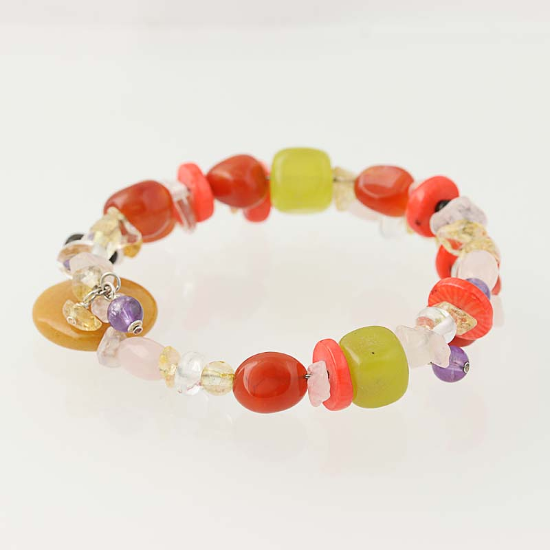 Yellow Amber Color Bracelet 5916 6 grams