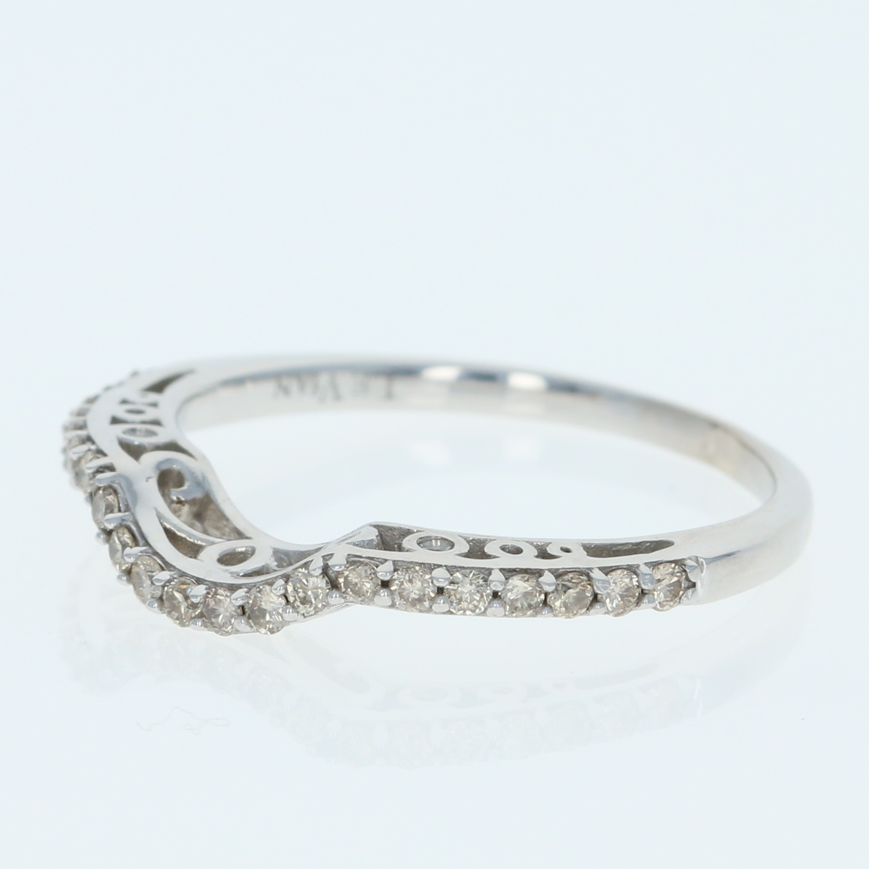 white brown ct gold vian diamond ring lyst le in jewelry and rings normal wedding tw chocolate crossover product gallery