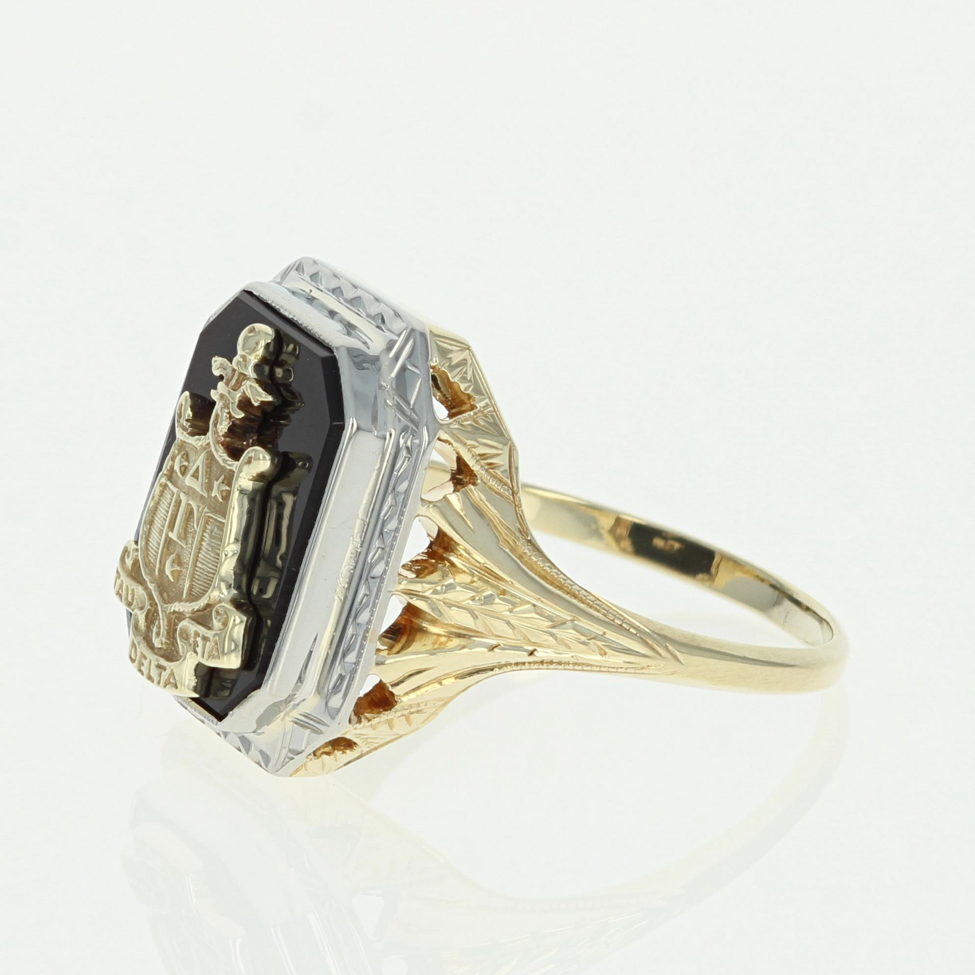 crest family ring mcdermott rings pin pinterest