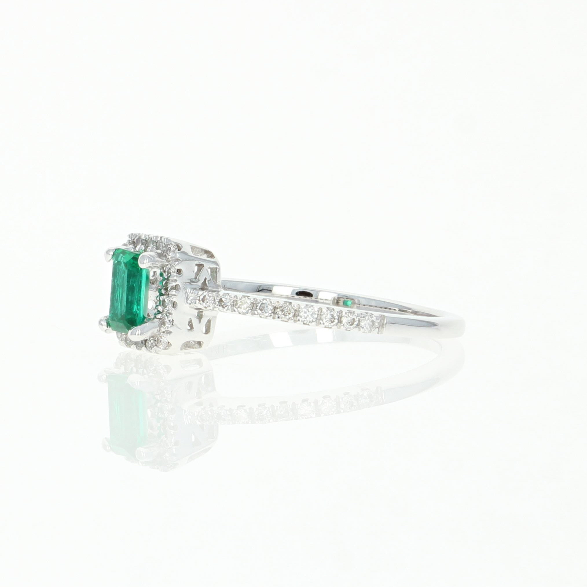 emerald rings differences between the real and synthetic. Synthetic Emerald \u0026 Diamond Halo Ring - 14k White Gold Cut .45ctw Rings Differences Between The Real And