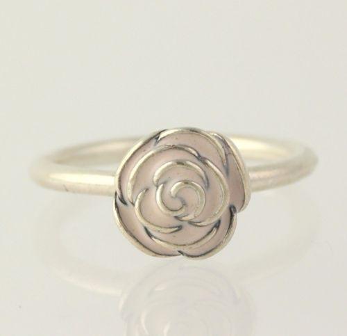 pandora rose ring silver