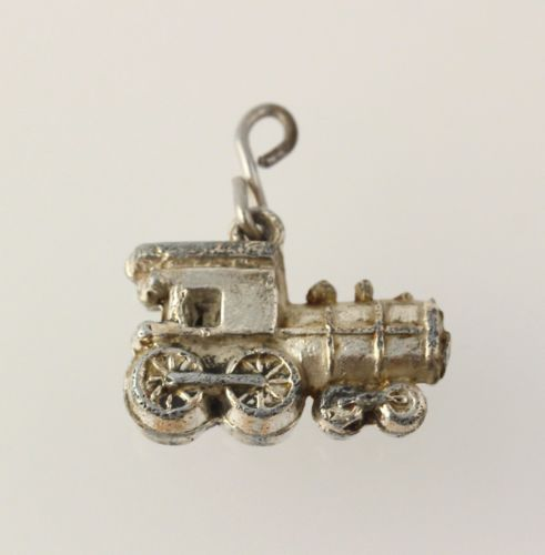 Authentic Trollbeads Silver Locomotive TAGBE-20192