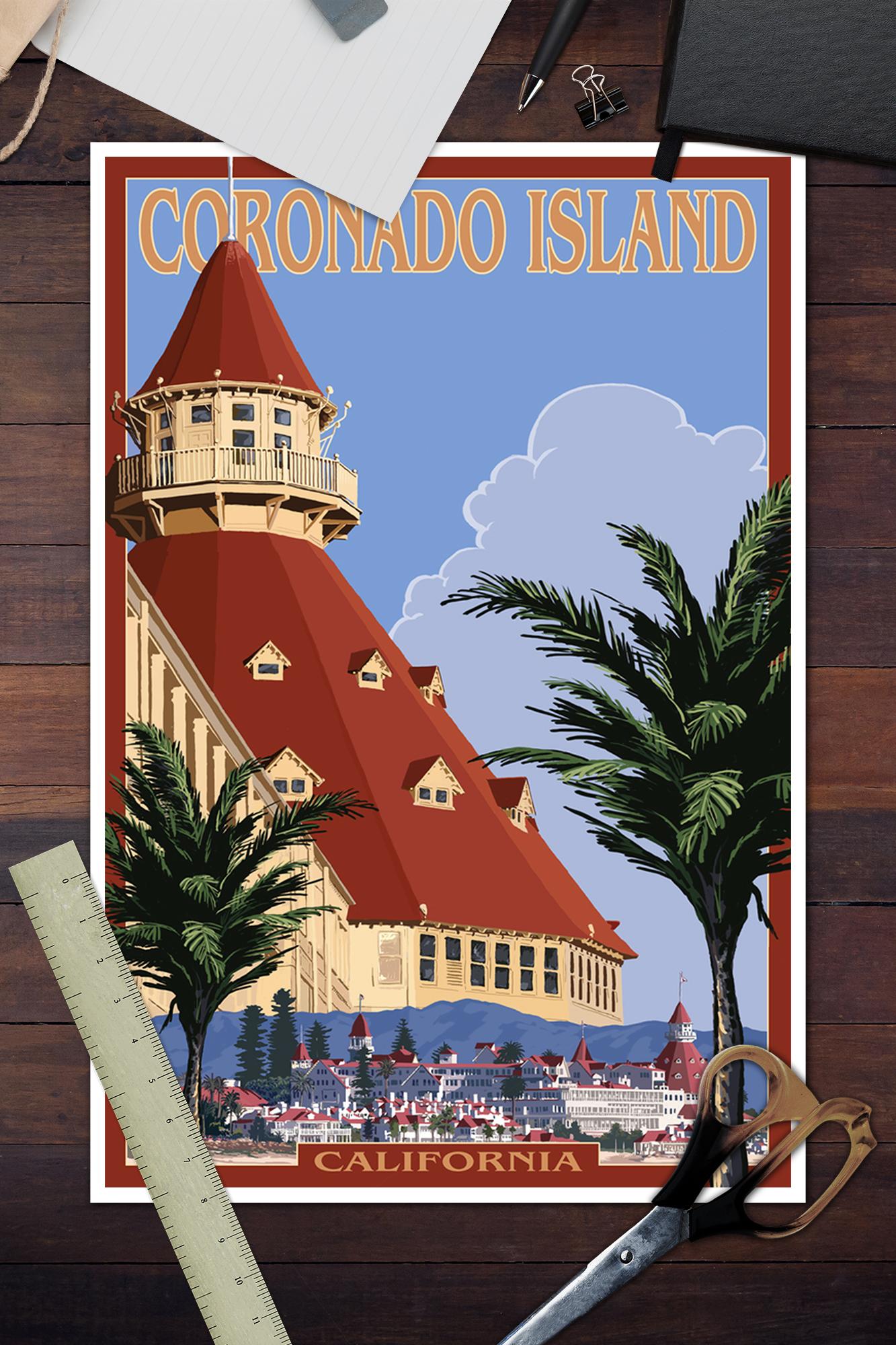Coronado Island CA Hotel Del Coronado