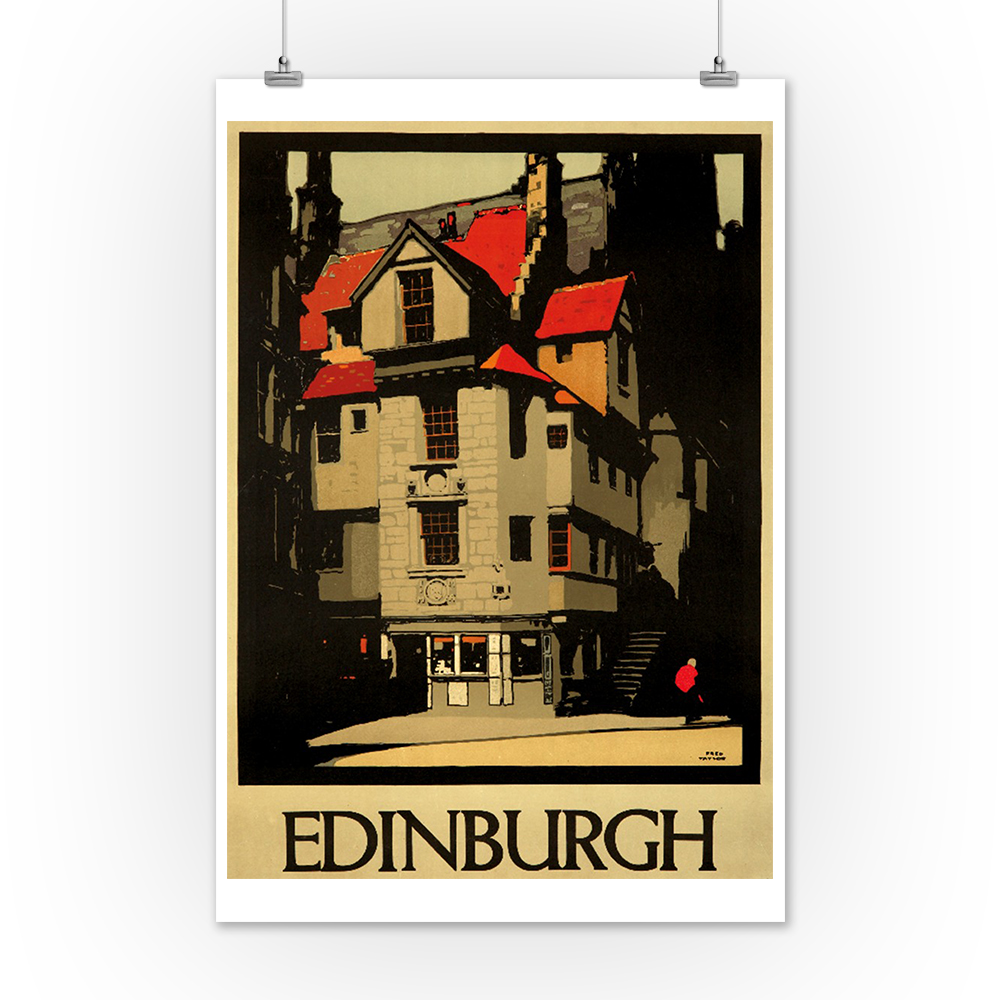 United Kingdom Edinburgh Taylor 1930 Vintage Ad (Posters